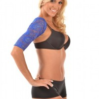 ARMore Classic Passion Paisley Arm Shaper blue side