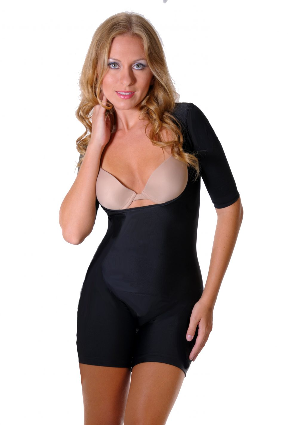 Body Slimmer , Tshape body short SS front