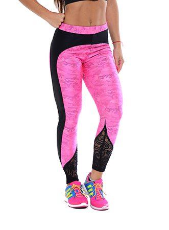 fff122e8cf99e5 Sport-ika Pink Digital Camo Leggings to the ankle – Lipedema Products