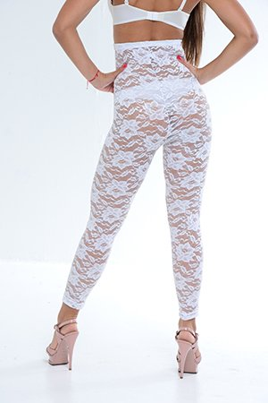 1089185a57 Passion Flower Lace Bridal High Waist Long Legging Body. Scroll Up. Scroll  Down