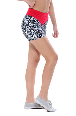Your Contour Sportica Sportswear 60's Geo short side small