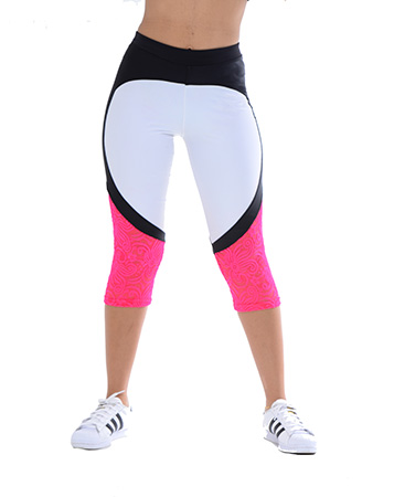 Your Contour Sportika Sportswear Solid Lace Legging front small