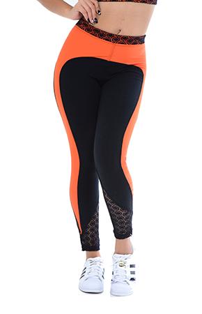 Yoga Sportswear Pant Your Contour Sportika Sportswear Solid Victorian Legging front small