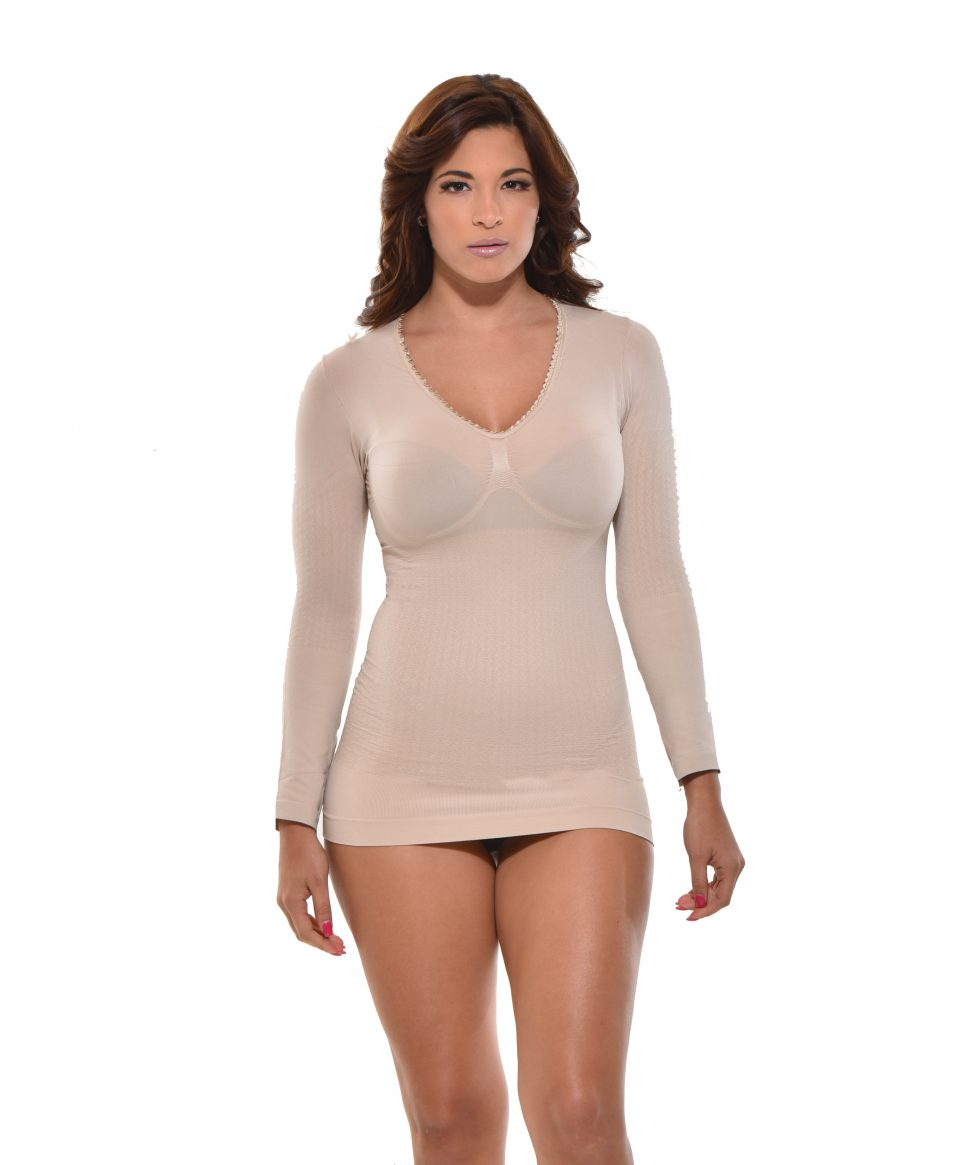 Shaping Camisole,  YC-9025-N nude front