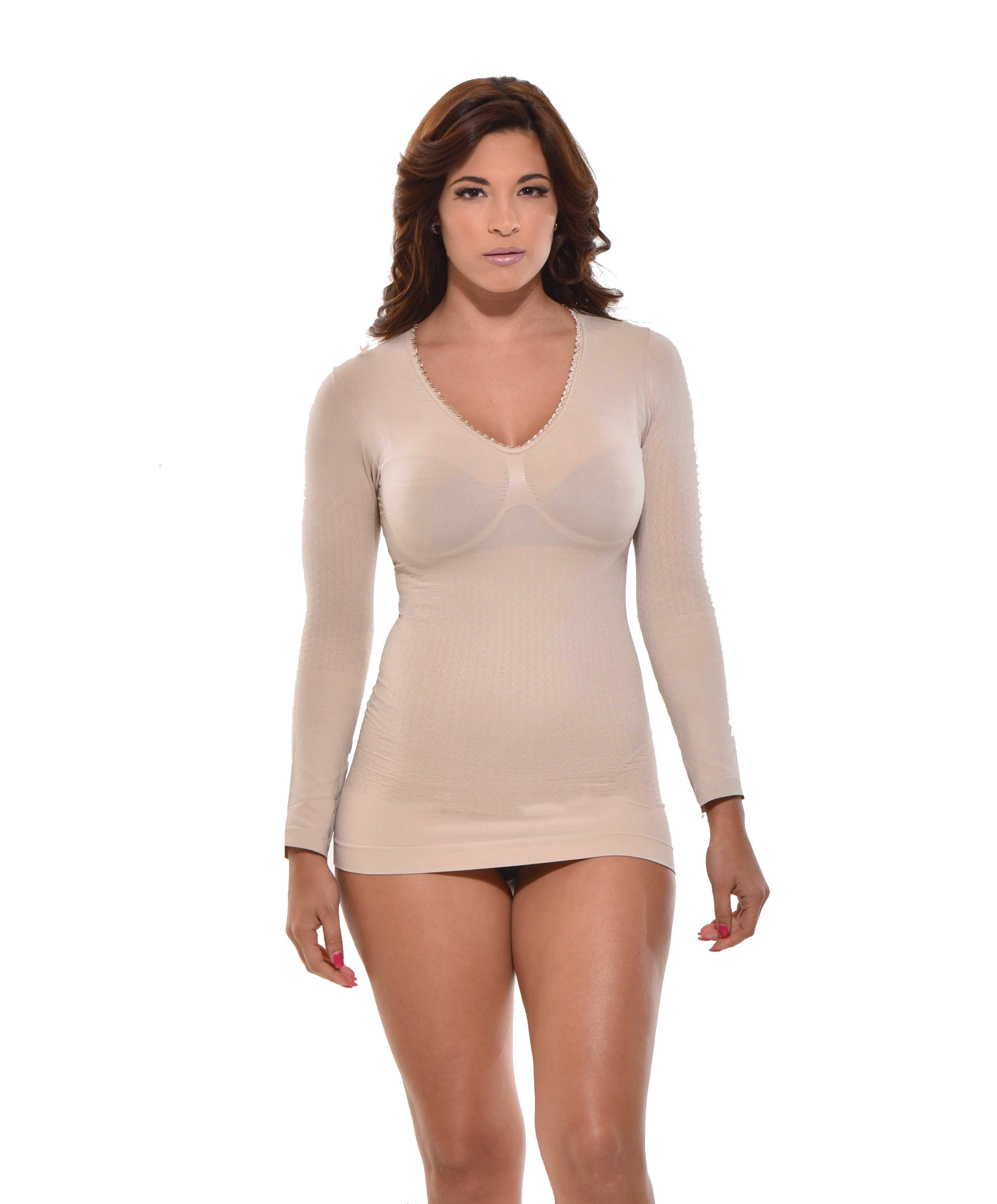 Shaping Camisole YC-9025-N nude front