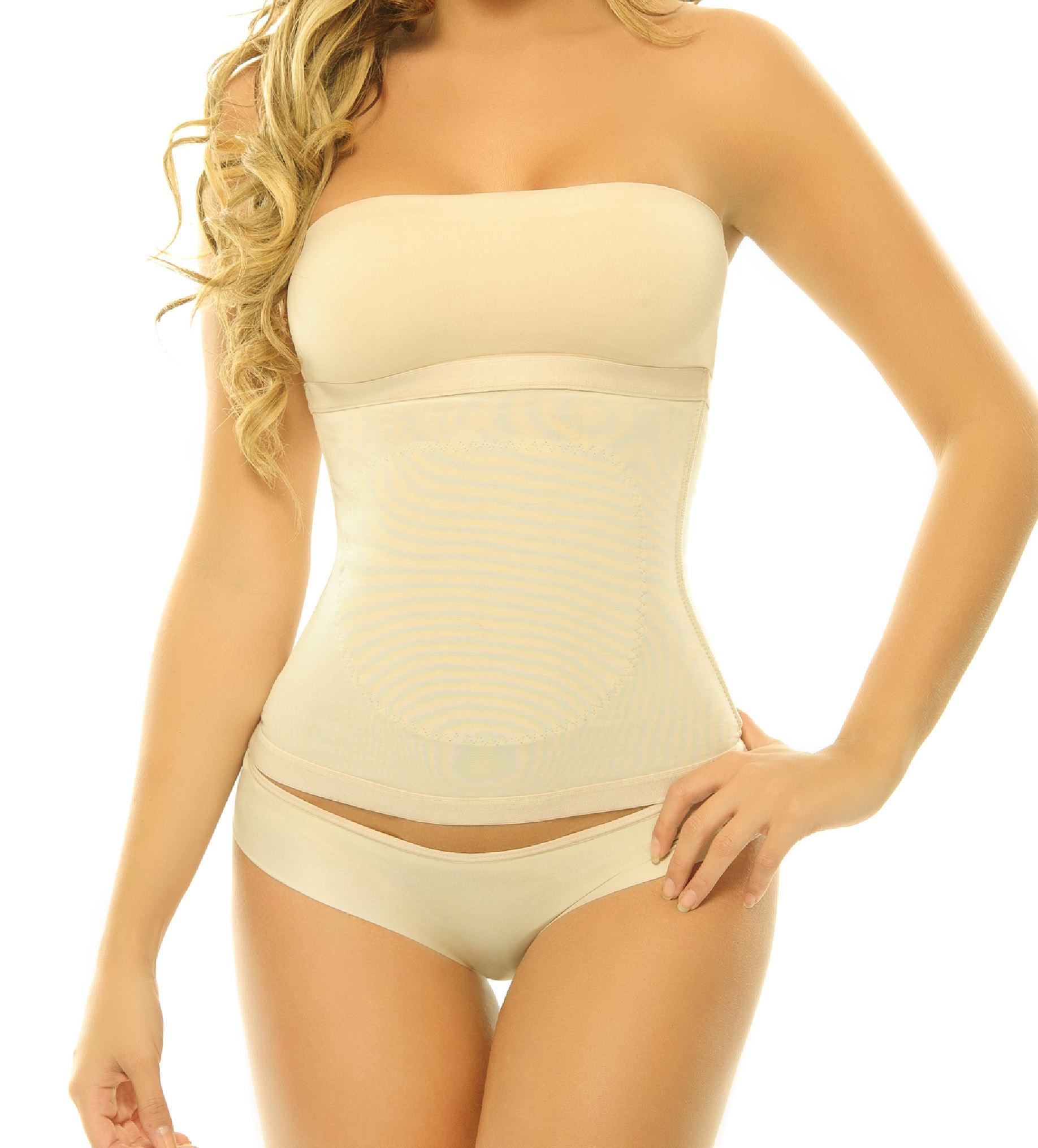 f3ed00f381 YC seamless tommy control Waist Cincher Nude front. Scroll Up. Scroll Down