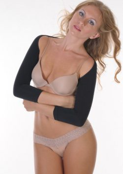 Arm Slimmer Shapewear Arm Shaper – Long Sleeve black