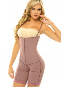 Siluet PL1 Body Shaper Extra firm Postpartum Shapewear pink side