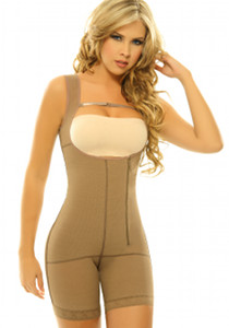 Siluet Capuchina Body Shaper Extra firm Postsurgical Shapewear nude front