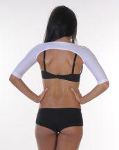 Arm Shaper – Short Sleeve white back
