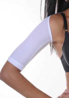 Arm Shaper – Short Sleeve white arm