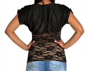 My Treasure – Topaz Shaping Tank Top Shapewear black back