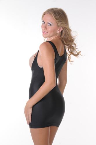 T-Silhouette Slip Shapewear black side