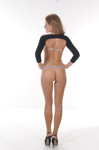 Arm Shaper – Long Sleeve (Clearance) black back