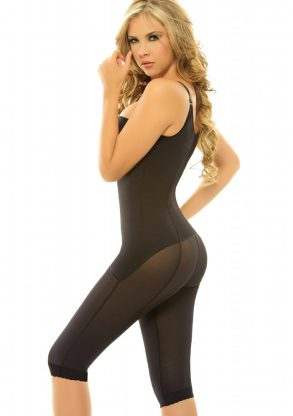 Siluet Margarita Body Shaper Extra firm Powernet Shapewear black side